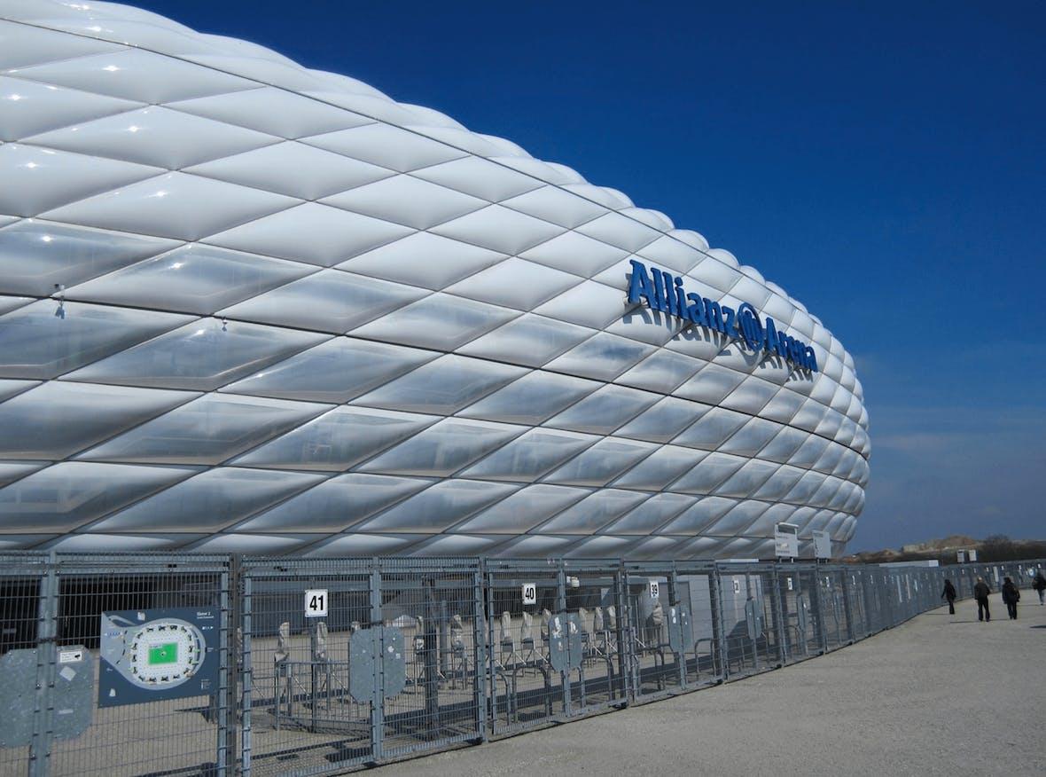 FC Bayern München - der viert wertvollste europäische Fußballverein