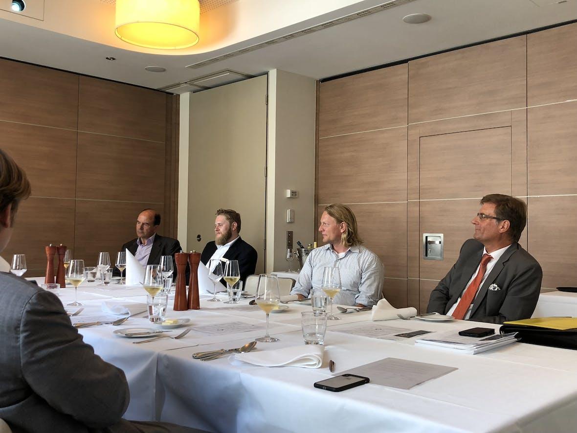 Impressionen zum Business-Lunch mit CAPinside und Schmitz & Partner in der Hanse Lounge