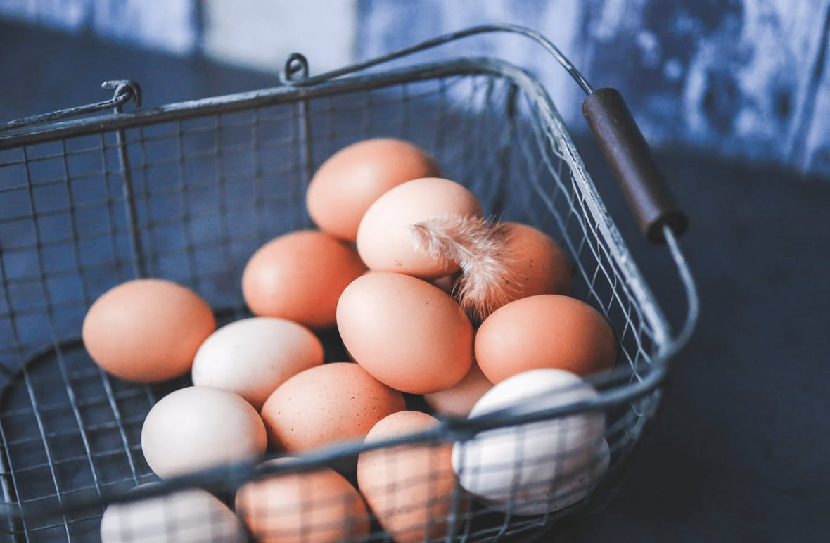 Anlegerregel: nicht alle Eier in einen Korb legen