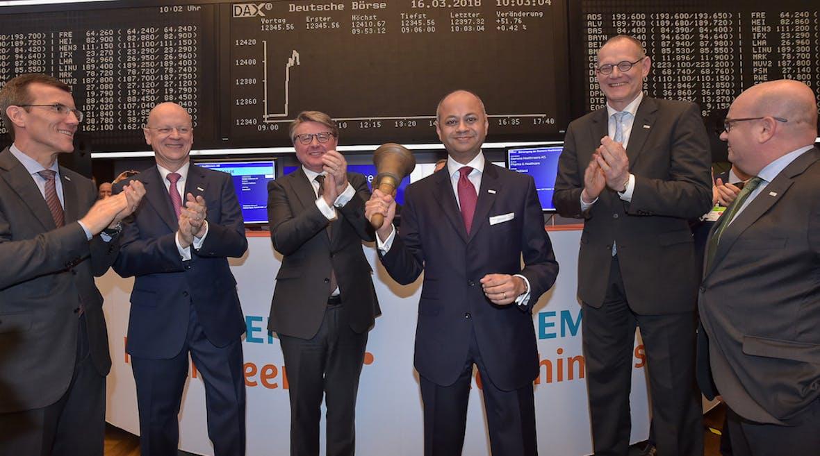 Dax Update: Indexveränderung durch Siemens Healthineers