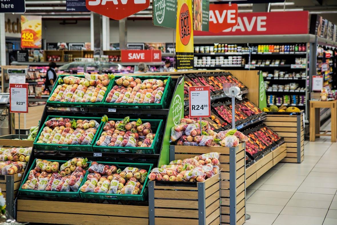 Supermärkte im Preiskampf