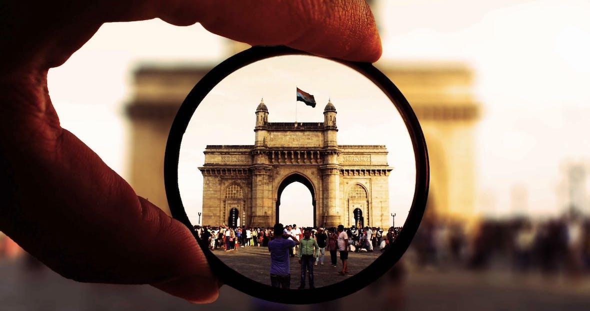 Scheinriese Indien