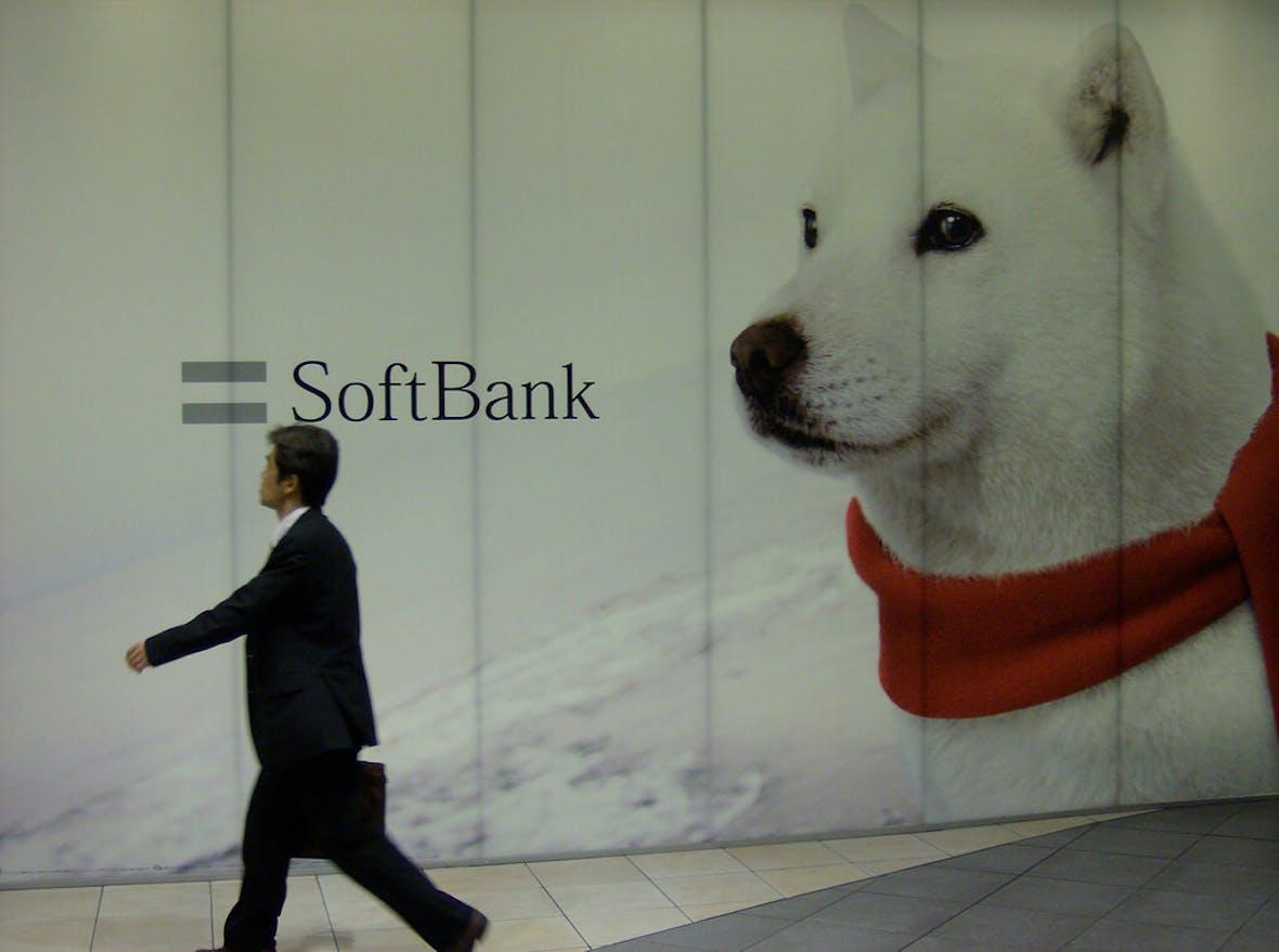 Softbank freut sich über Milliardengewinn