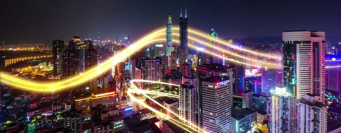 Tencent- Aufwärtstrend in Gefahr