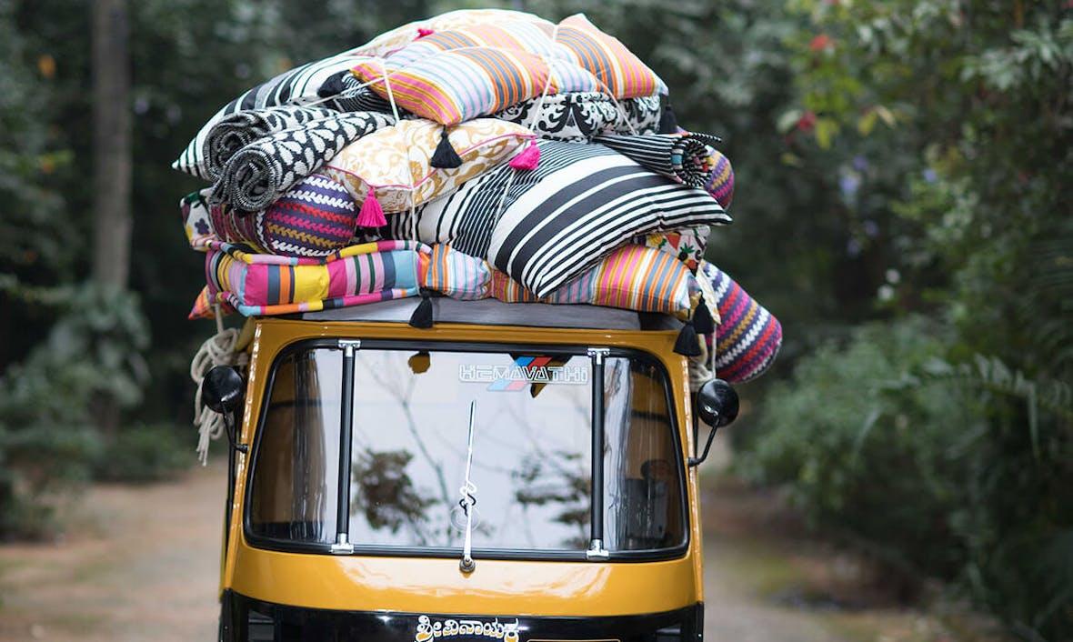 IKEA erobert Indien per Elektro- Rikscha