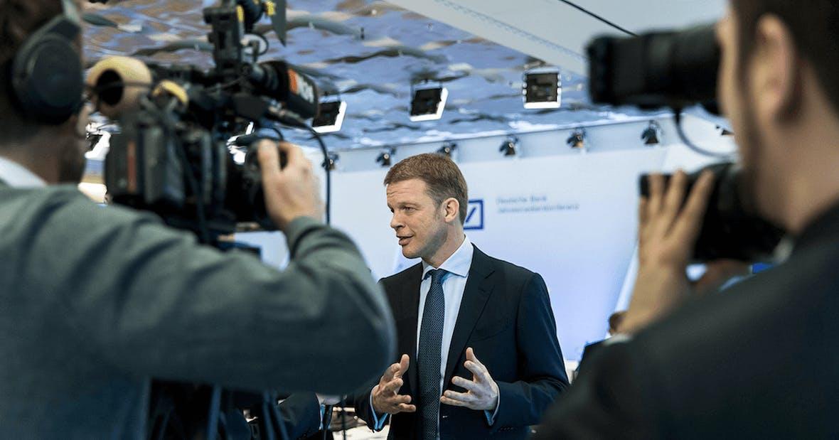 Deutsche Bank: globaler Anspruch bleibt