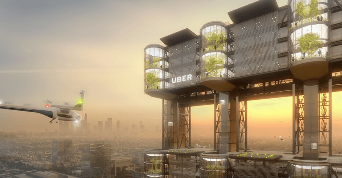 UBER Air sucht Standorte