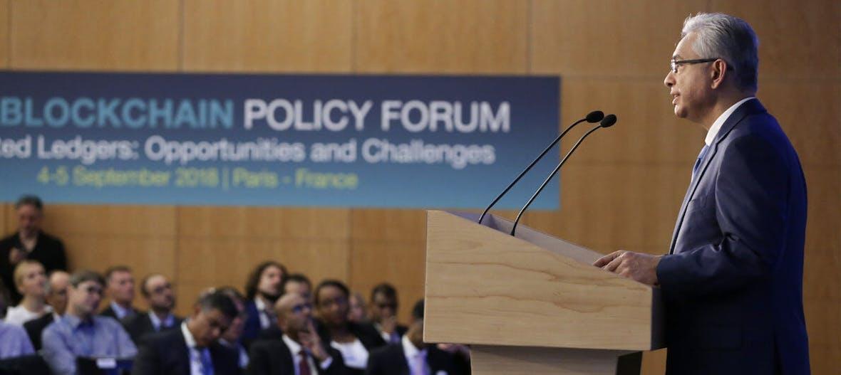 Blockchain Policy Forum der OECD in Paris