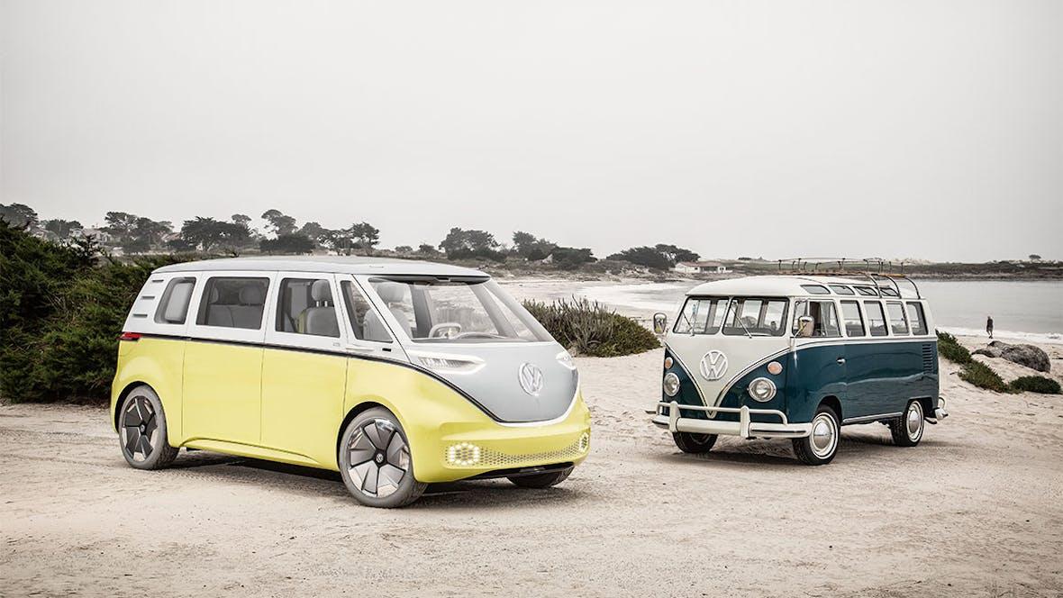 Volkswagen hat Elektro-Transporter für sich entdeckt: I.D. Buzz Cargo und Co.