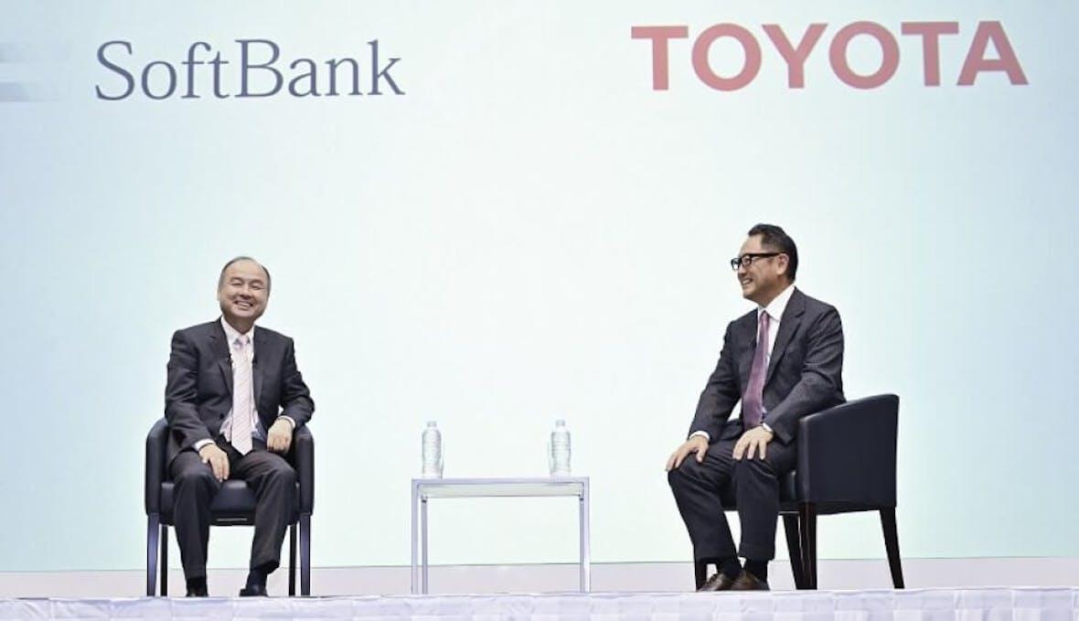 Toyota kooperiert mit Softbank, Honda mit GM