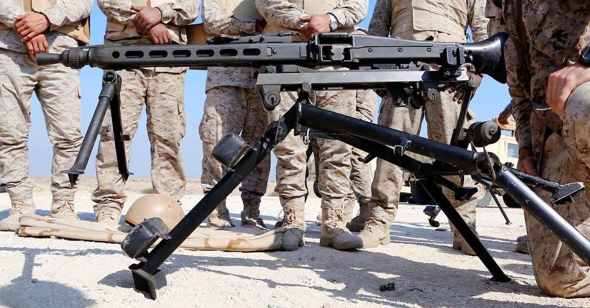 Saudi-Arabien zweitwichtigster Kunde für deutsche Waffen