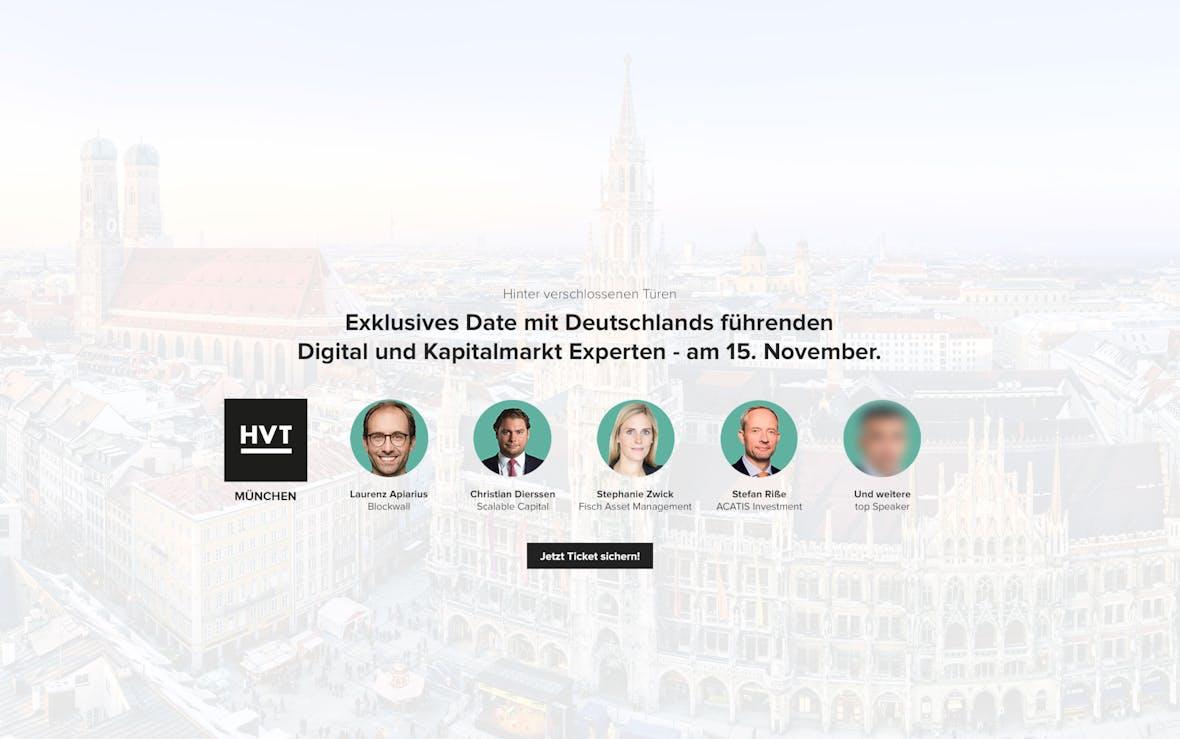 HVT München am 15. November 2018