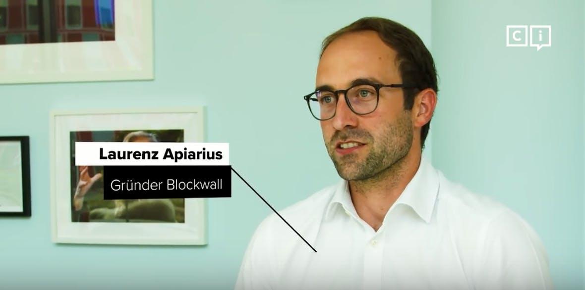 Was ist die Blockchain und wie kann ich von ihr profitieren? - Laurenz Apiarius, Managing General Partner bei Blockwall