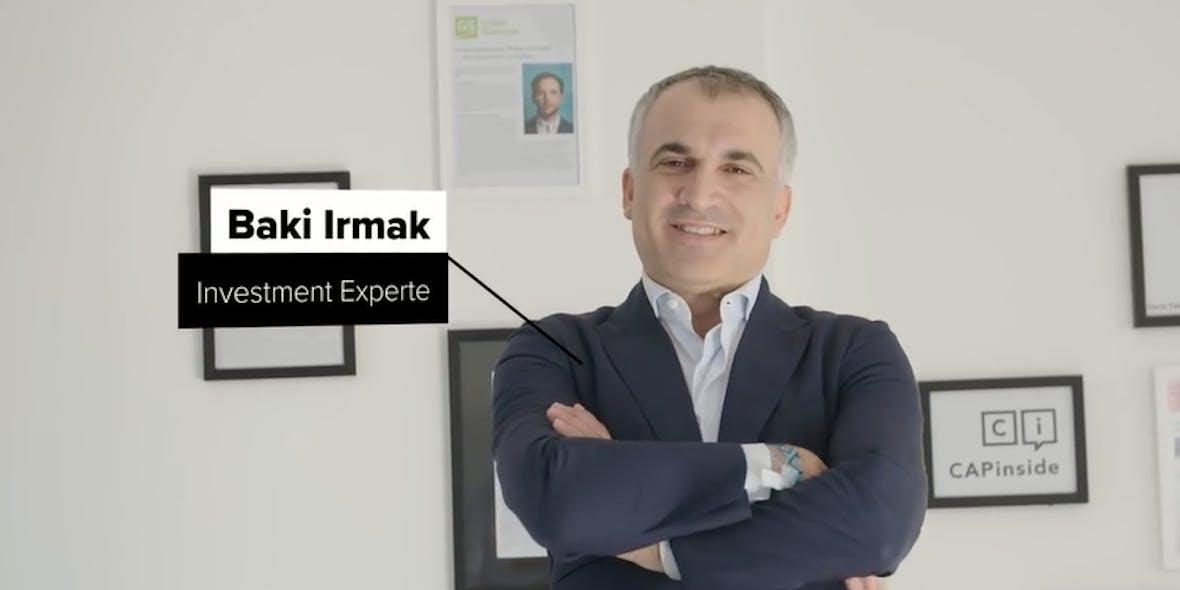 """""""Lassen Sie Jeff Bezos, Mark Zuckerberg und Co für sich arbeiten."""" - Baki Irmak, Investment Experte"""