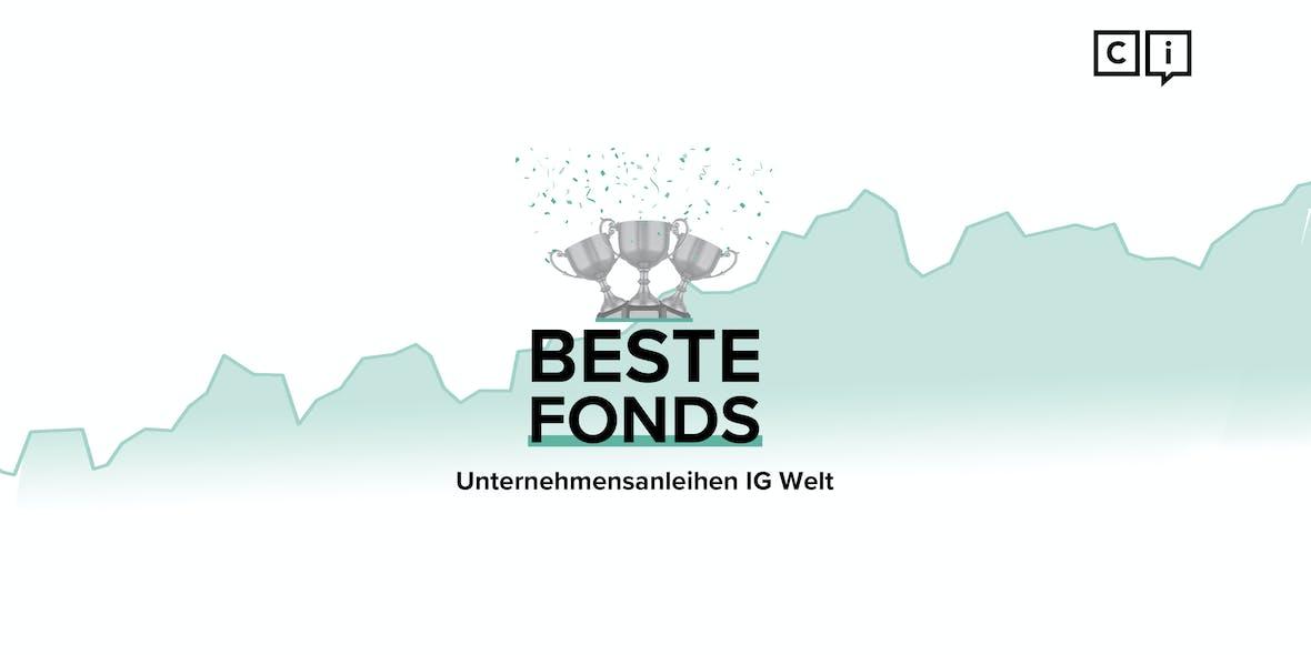 Die besten Rentenfonds 2020: Unternehmen Investment Grade Welt