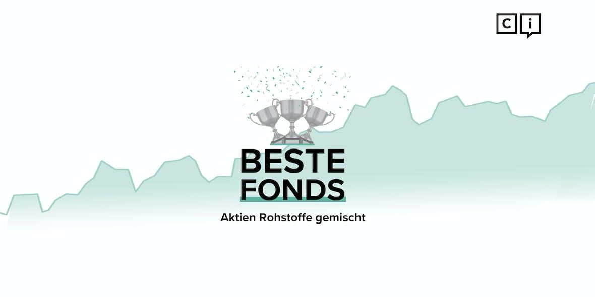 Die besten Aktienfonds 2020: Rohstoffe gemischt Welt