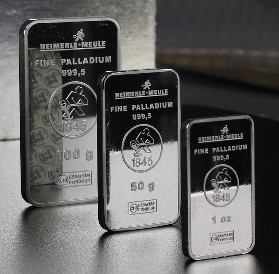 Edelmetall Palladium auf neuem Rekordhoch