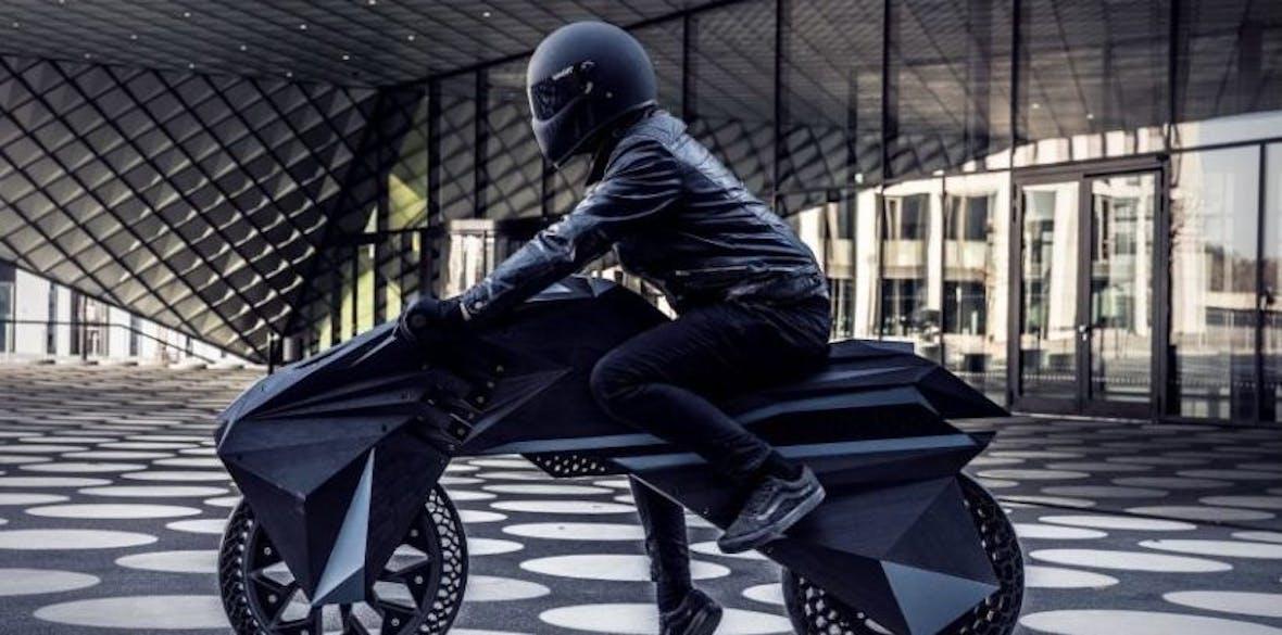 Berliner Startup präsentiert futuristisches E-Bike aus dem 3D-Drucker