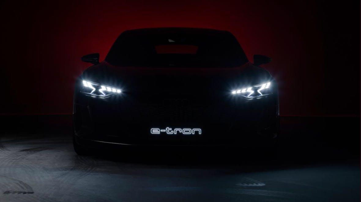 Weltpremiere für Audi E-Tron GT