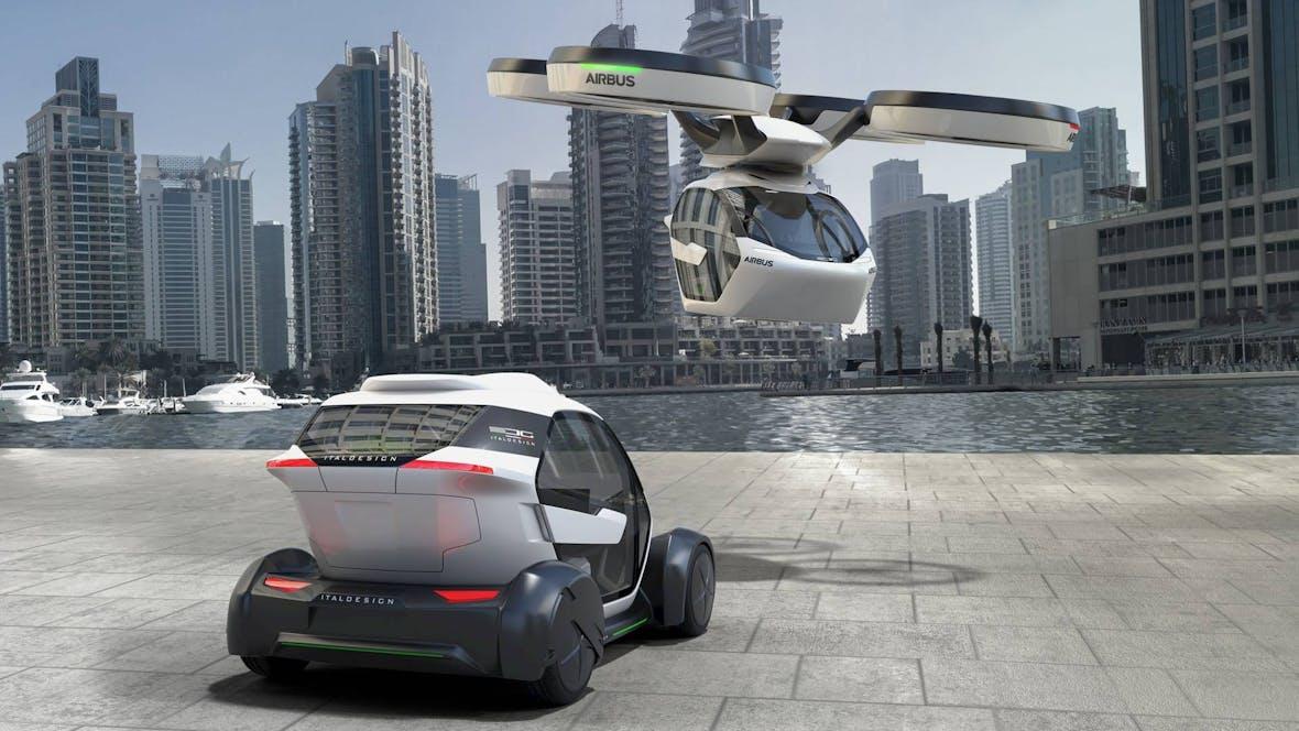 Airbus und Audi entwickeln Flugtaxi