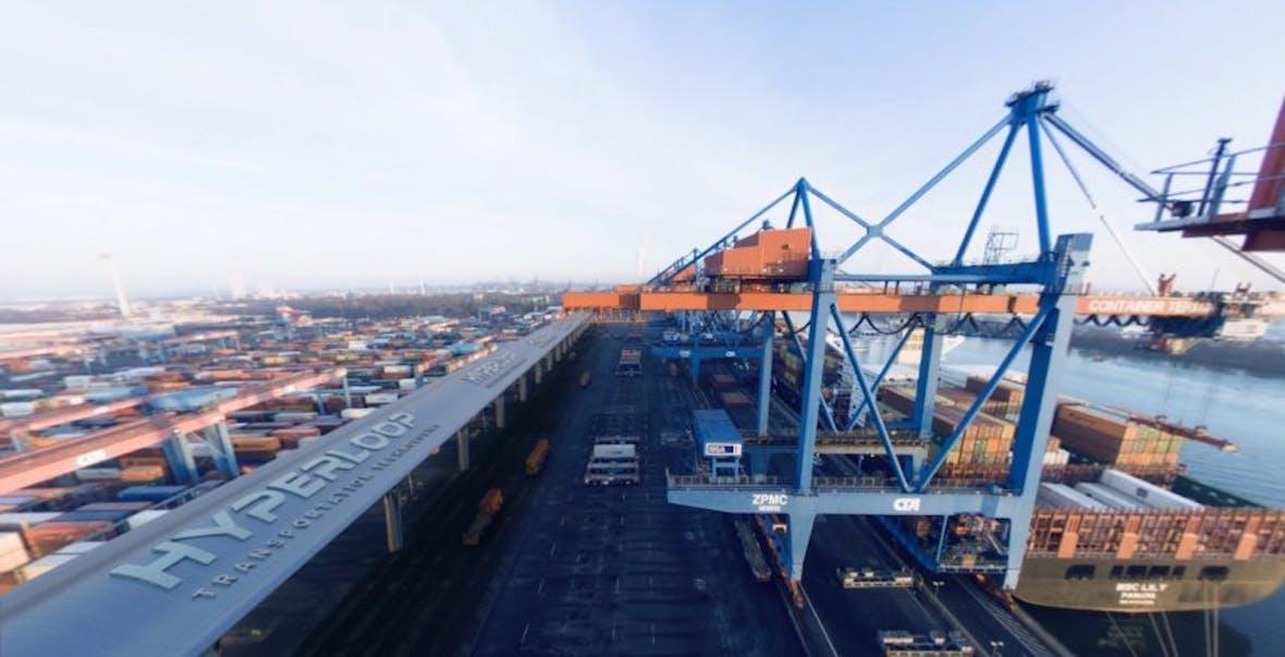 Musks Hyperloop für den Hamburger Hafen