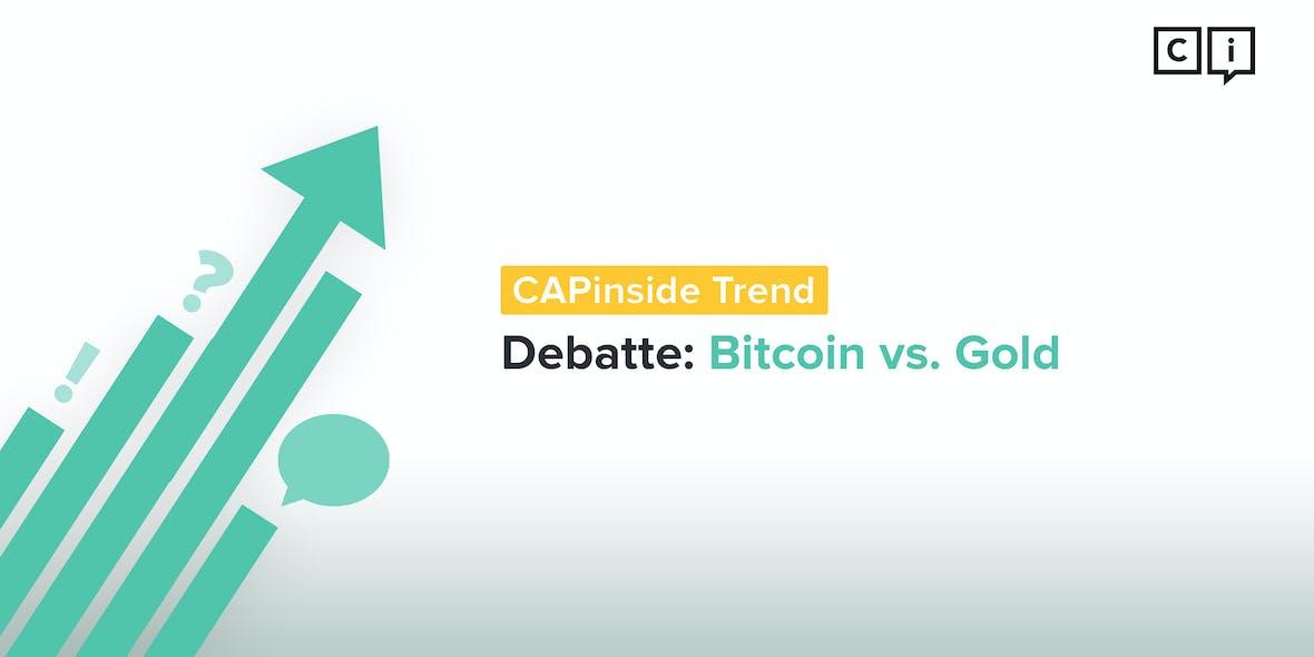 Gold oder Bitcoin: Horten statt Shorten