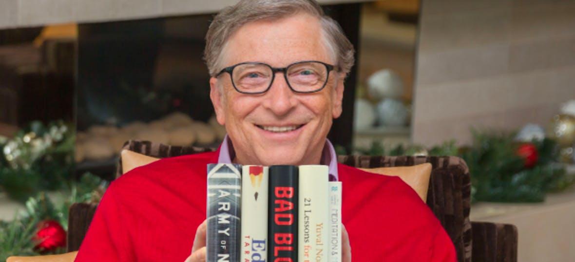 5 Bücher: Microsoft-Gründer Bill Gates gibt Geschenktipps