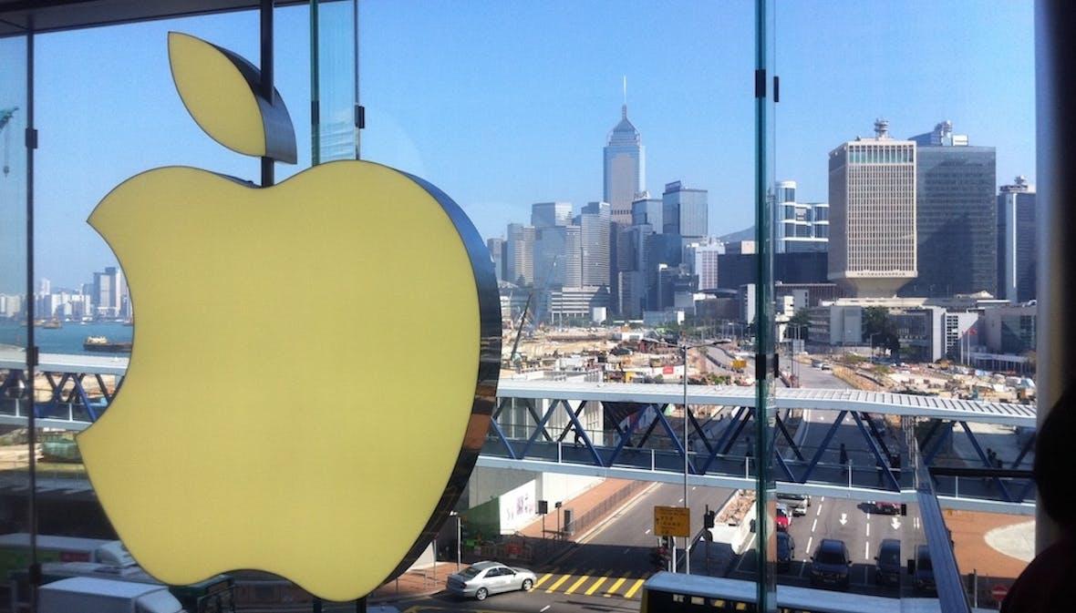 China verhagelt Apple das Weihnachtsgeschäft