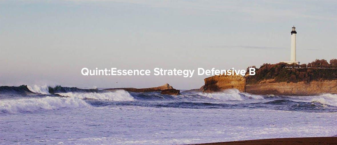 Strategy Defensive: Qualität hat ihren Preis