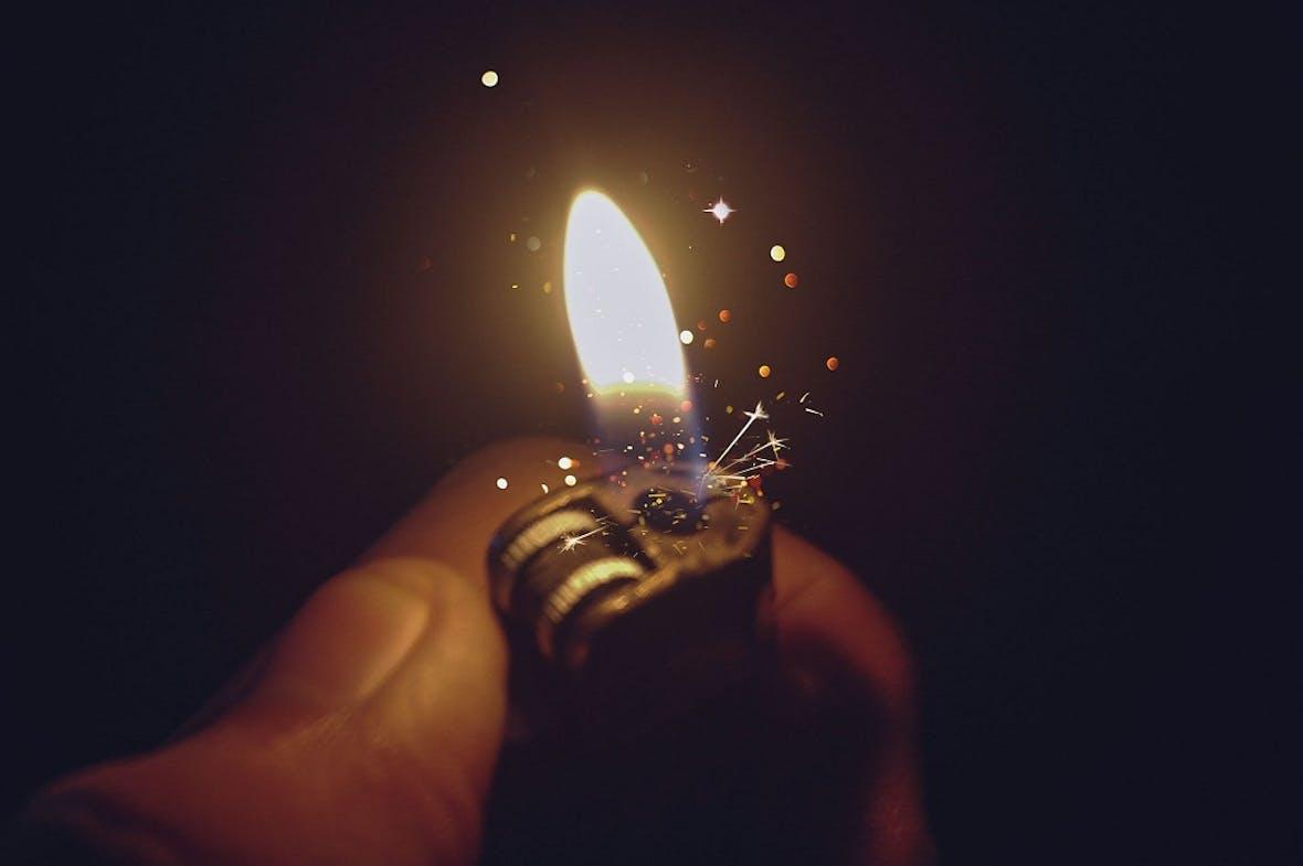 DAX 30: Kleiner Funke - großes Feuer (?)